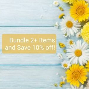 Bundle 2 + Items and Save 10% off!!